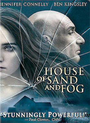 House of Sand and Fog (Jennifer Connelly, Ben Kingsley) BRAND NEW DVD