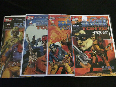 LONE RANGER AND TONTO: IT CRAWLS #1, 2, 3, 4 Lansdale, Truman VFNM Condition