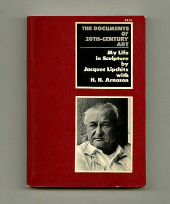 1972 Jacques Lipchitz MY LIFE IN SCULPTURE Documents of 20th-Century Art series