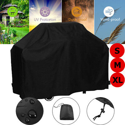 BBQ Grill Cover 4/6 Burner Outdoor UV Waterproof Gas Charcoal Barbecue Protector