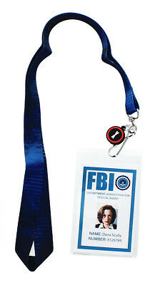 The X-Files Dana Scully ID Lanyard with Charm