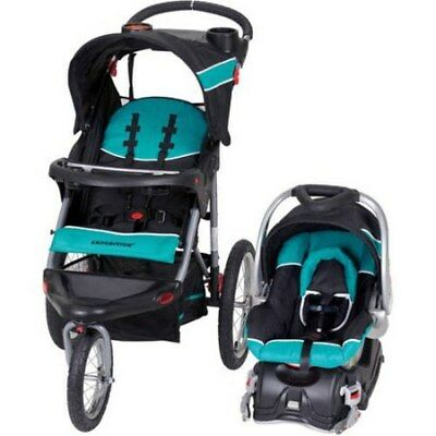 Baby Trend Expedition Jogger Stroller Travel System Tropic Infant Car Seat NEW