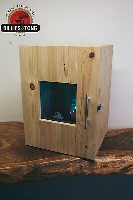 Biltong Box With Perspex Window & LED Fan 5kg South Africa Jerky Dryer Curing