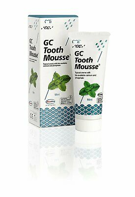 GC Tooth Mousse GCT004SP Mint Topical Creme Repairs and Strengthens 40 g