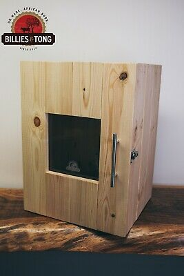 Biltong Box With Perspex Window 5kg South Africa Jerky Dehydrator Beef  Dryer