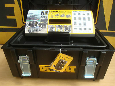 Dewalt Ds300 Tough System Storage Carrying Case With Tote Tray 1 70 322