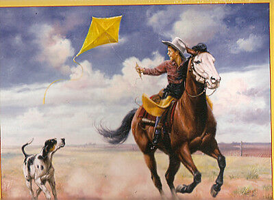 Pointer Horse Boy Ride Like the Wind Puzzle 550 piece by Jack Sorenson