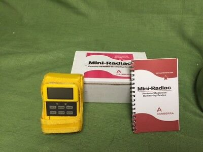 Canberra Personal Radiation Detector Mini-Radiac, with Alarms, MRad 113