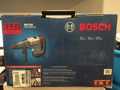 Bosch RH745 13.5 Amp Corded 1-3/4 in. SDS-max Variable Speed Rotary Hammer Drill