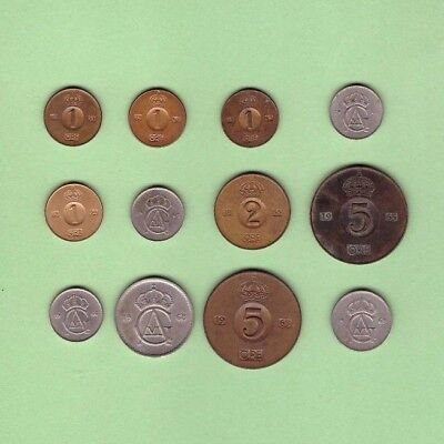 Sweden - Coin Collection - Lot # E - World/Foreign/Europe