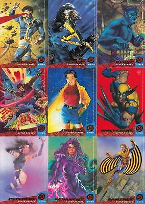 X-men fleer Ultra Card set 1994 -Complete 150 base CARD set!! FREE SHIPPING NM