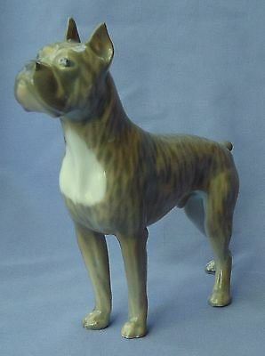 Brindle Boxer Dog Royal Copenhagen Denmark 7""