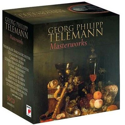 30 CD Box Georg Philipp Telemann `Meisterwerke/Masterworks` Neu/New/OVP