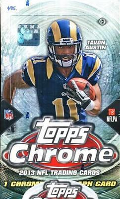 2 Box Lot 2013 Topps Chrome Football Hobby Sealed