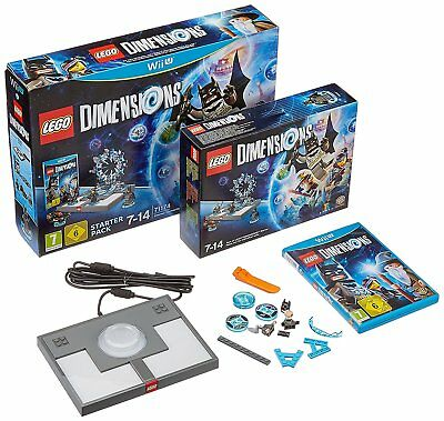 Nintendo Wii u Game Lego Dimensions - Starter Pack for the New Wiiu New