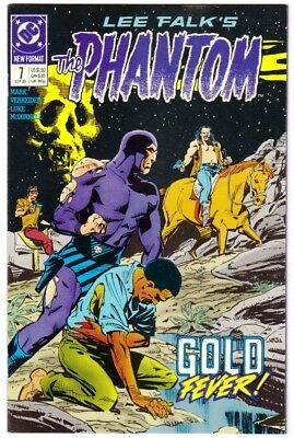 "THE PHANTOM (DC) #7 (9/89)--NM / ""Gold Fever""; Luke McDonnell-art/cover^"