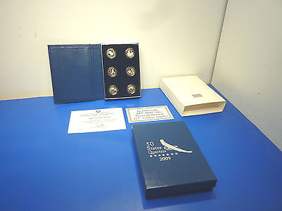 United States 2009 District of Columbia & U.S.Territories Proof Quarters,S mint