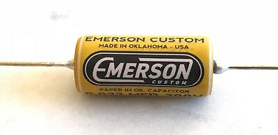 Emerson Paper In Oil Tone Capacitors .022