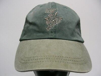 Oregon Pinot Camp - Faded Style - Adjustable Strapback Ball Cap Hat!