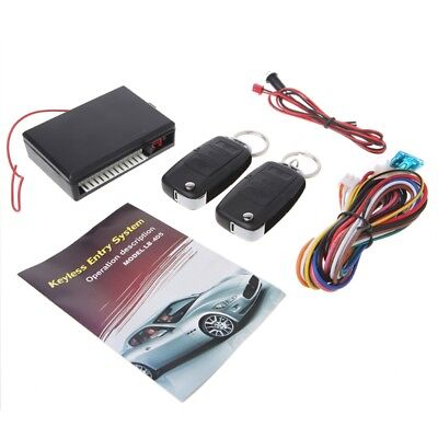 Universal Car Remote Control Central Kit Keyless Door Locking Entry System Alarm