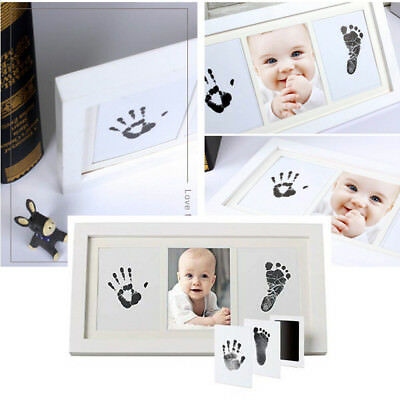 PRECIOUS 3 in 1 Babyprints Newborn Baby Handprint And Footprint Photo Frame Kit