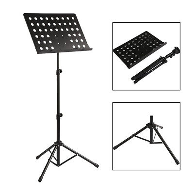 Foldable Music Stand/Holder/ Base Tripod Heavy Duty Orchestral Conductor Stand
