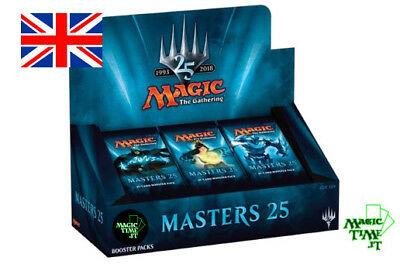 BOX 24 Buste booster Magic MASTERS 25 ENG Nuovo Mtg Magic Sealed Booster M25