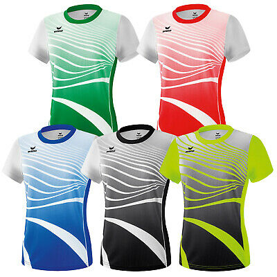 Erima Athletic Funktionsshirt Damen kurzarm Leichtathletik T-Shirt 8081816