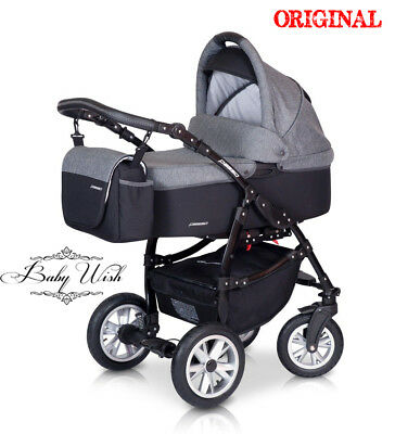 EUROCART PASSO 2in1 or 3in1, Isofix CARRYCOT+PUSHCHAIR+CAR SEAT,FREE EXTRAS!