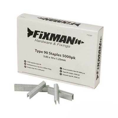 Fixman 715197 Type 90 Staples 5000pk