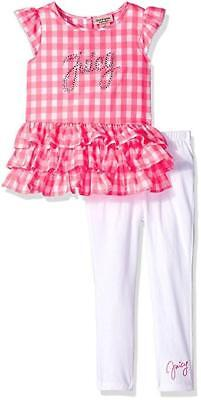 Juicy Couture Girls Pink 2pc Legging Set Size 2T 3T 4T 4 5 6 6X
