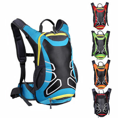 15L Waterproof Nylon Breathable Motorcycle Backpack Riding Shoulder Bag outdoor