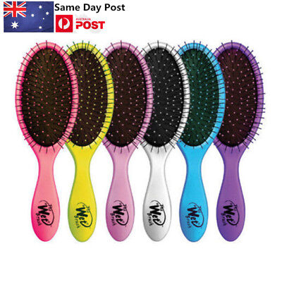 AU Wet Brush Professional Salon Detangling Hairbrush Hairstyles Soft Bristles