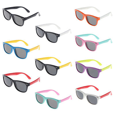 Safety Silicone Software Polarized Children Sunglasses Baby Glasses UV400 S New