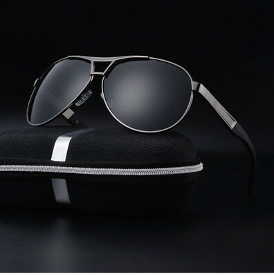 New POLARIZED Pilot Sunglasses Mens Women's UV400 Driving Glasses Mirror Eyewear