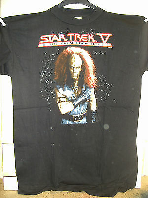 Vintage T-Shirt: Star Trek V - The Final Frontier: Klingon (XL) (USA,1992)
