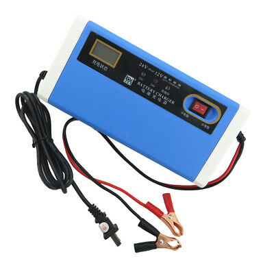 Universal Motorcycle Battery Charger 12 Volt 12V 10Amp Car Dirt Bike Scooter