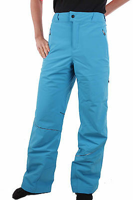 SPYDER LADIES 113321-425 Ski Pants Me Tailored Fit Pant Blue Bay Size 42