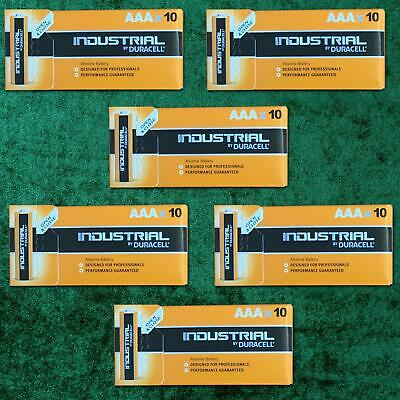 60 X Duracell AAA Industrial MN2400 Battery Alkaline Replaces Procell Exp 2024