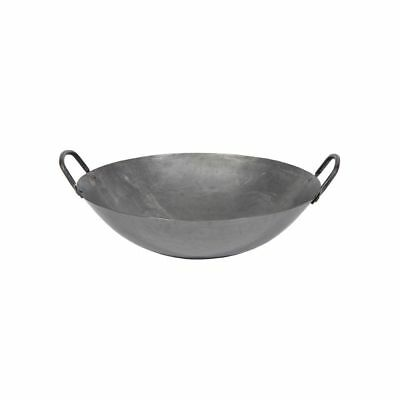 "Town Food Service 34714 14"" Hand Hammered Cantonese Wok"