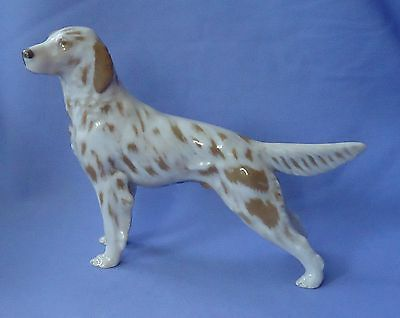 Orange Belton English Setter Royal Copenhagen B&g Denmark