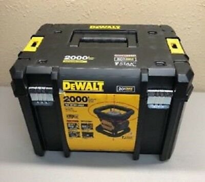 New Dewalt Dw079Lr Self Leveling 20 Volt Rotary Laser Level 200' Range 2667277