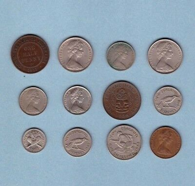 Australia & New Zealand - Coin Collection Lot - World/Foreign/Oceania