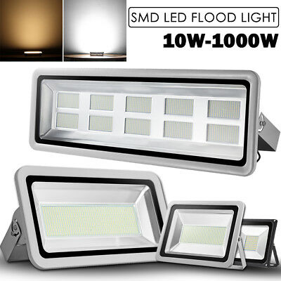 1000W 800W 500W 300W 200W 150W 100W 50W 30W 20W 10W LED Flood Light Outdoor Lamp