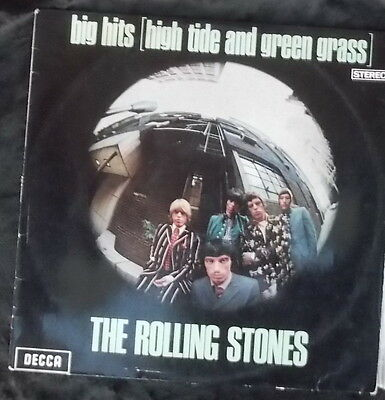 ROLLING STONES Big Hits (High Tide And Green Grass) LP AUST TXS 101