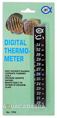 Aquarium Thermometer Digital for Fish Tanks - Celcius/Farenheit, easy to read