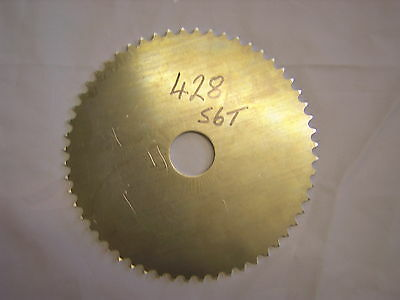Blank Rear Sprocket 47T 428, Dural With 40mm Hole. New,
