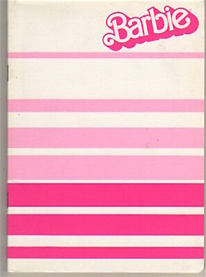 BARBIE 80s Mattel italy Notebook school - quaderno scuola mint