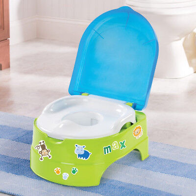Groovy My Fun 3 In 1 Potty Toilet Trainer Seat Step Stool Creativecarmelina Interior Chair Design Creativecarmelinacom