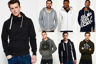 New Mens Superdry Hoodies Selection - Various Styles & Colours 0703 1